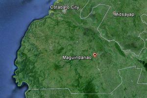 Maguindanao town under siege