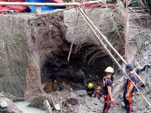Minero, nalibing ng buhay sa gumuhong mining site sa Bataan