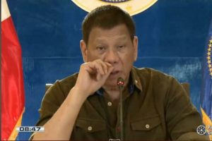 Duterte hinted at re-imposing strict lockdowns