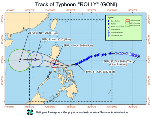 Almost One Million Evacuees Due to Typhoon Rolly