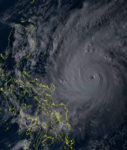 Typhoon #RollyPH maintained strength, areas in Bicol region now under Signal no. 3