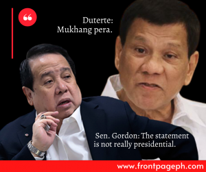 "Gordon dares Duterte: ""Do your worst"""