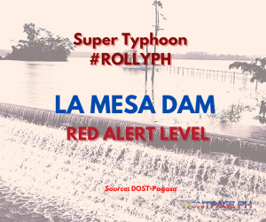 """La Mesa Dam at """"Red Alert"""" level due to possible """"overflow"""""""