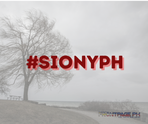 Tropical Storm Siony enters PAR; Rolly weakens