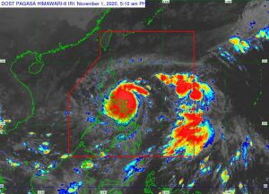 Rolly intensifies into super typhoon; makes landfall over Bato, Catanduanes