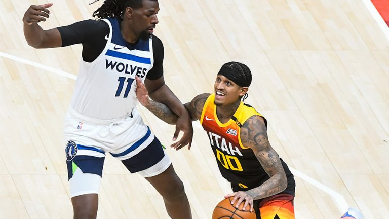 Fil-Am Jordan Clarkson leads Jazz but clawed by Wolves