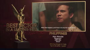 Arjo Atayde tested positive for COVID-19 while filming in Baguio