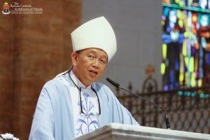 """""""Bahala na ang mga pari kung tatanggapin ang bakuna"""" — Bishop Pabillo"""