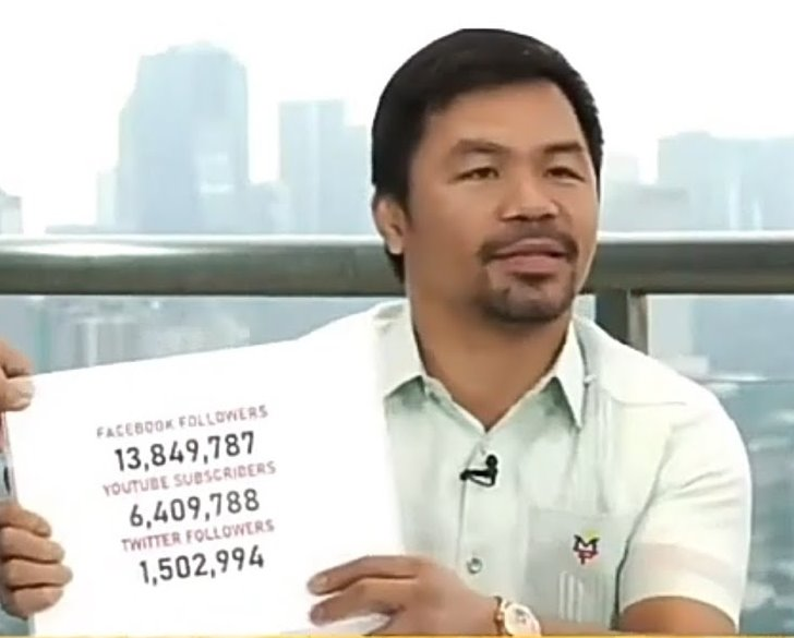Sen. Pacquiao dabbles in TV hosting