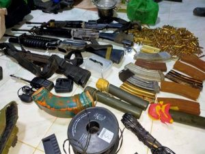 PNP to coordinate with AFP on campaign vs loose firearms