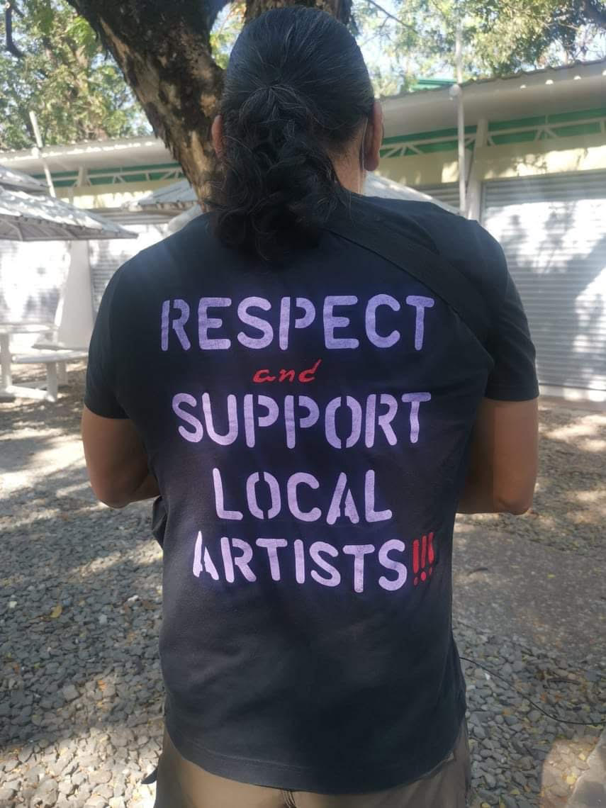 Local artists group calls for respect and support