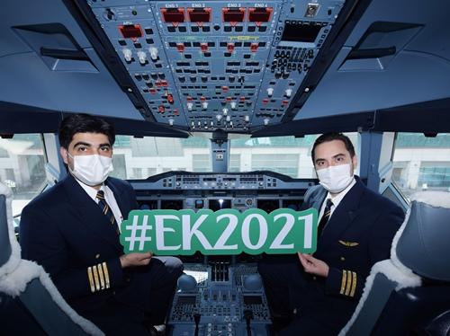Emirates ready for travel rebound with milestone flight EK2021