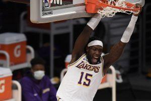 LeBron-less Lakers upset star-studded Nets