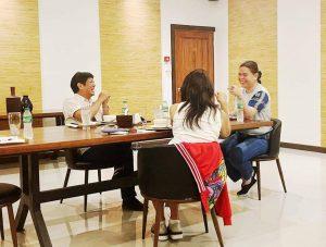 Bongbong, Mayor Sara meet up in Davao