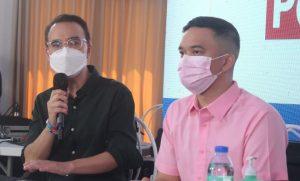 Cayetano, Alvarado distributed P10K ayuda in Bulacan