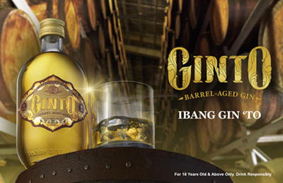 """There's a new gin in town – Tanduay's """"Ginto"""""""