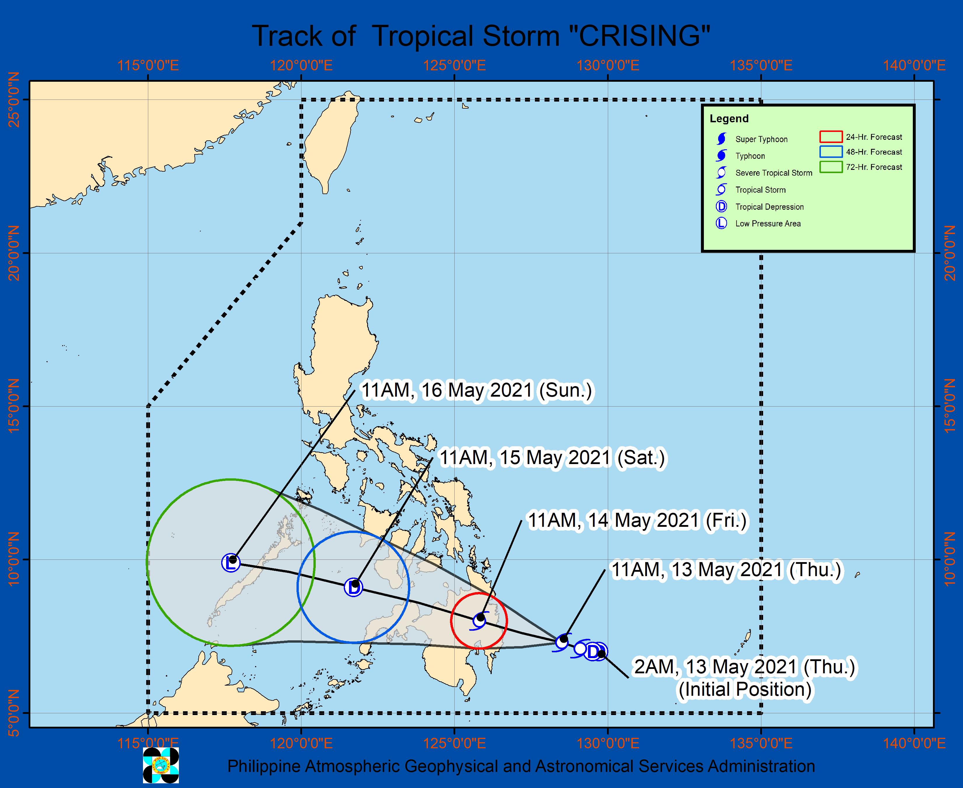 LPA sa Mindanao, ganap nang naging bagyo