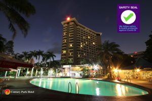 Century Park Hotel bags Safety Seal certification from DOT
