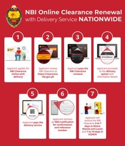 NBI Clearance renewal now available online