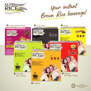 NutriBrownRice® is the New Breakfast of the Champs