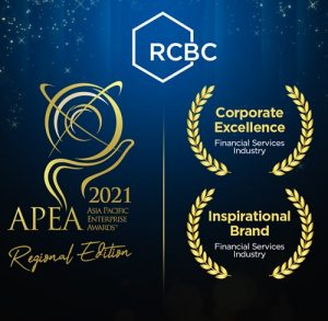 RCBC bags corporate excellence and inspirational brand awards