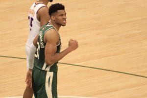 Bucks outlast Suns, ties finals series at 2-2