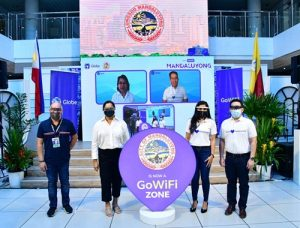 Globe's GoWiFi service, texting solution now available at Mandaluyong City Hall