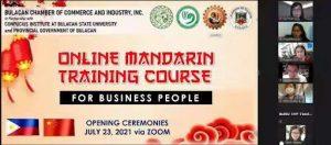 BulSu opens online Mandarin training course