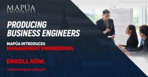 Mapúa to produce business engineers with Management Engineering program