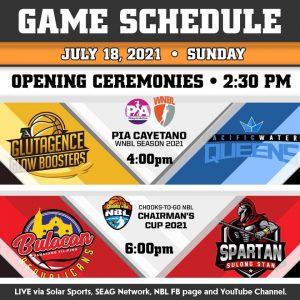 NBL Season 4 opens, Bulacan to face Quezon in today's main game opener