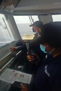 Chinese navy warship, naitaboy ng PCG