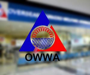 OWWA, kinuwestyon sa pagbili ng sanitary napkin sa isang construction company