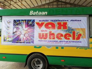 """""""Vax on Wheels,"""" umarangkada na sa Hermosa, Bataan"""