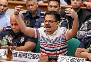 Self-confessed druglord Kerwin Espinosa at 10 iba pa, pinakakasuhan sa illegal drug trade