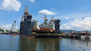 Subic Drydock Corporation provides maintenance support to PN vessel