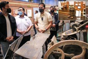 19th Century printing press donated to Hiyas ng Bulacan Museum