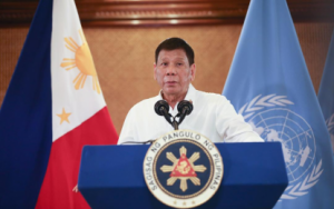"""Duterte slams rich countries for """"hoarding"""" COVID-19 vaccines"""