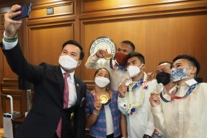 House gives honors to Tokyo Olympic medalists