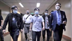Cited for contempt, Pharmally exec Linconn Ong detained at the Senate