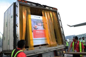 Two million Sinovac vaccines arrive in PHL