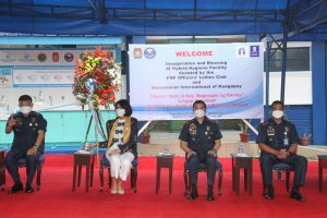 Donated hygiene facility inaugurated in Camp Crame