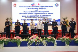 Japanese gov't donates P38-million worth of disaster response equipment to PNP