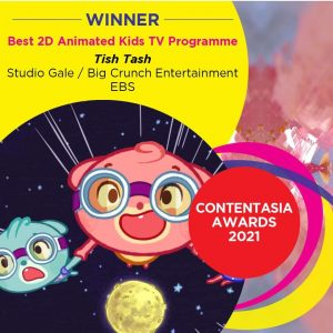 """""""Tish Tash,"""" a Filipino co-produced kids animated TV series, nominated at the 10th International Kids Emmy Awards"""